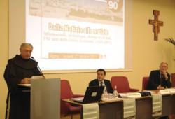 Si è aperto questa mattina a Roma il convegno per i 90 anni di <i>Terrasanta</i>