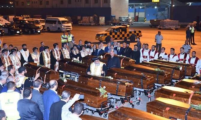 Egitto, rimpatriati i corpi dei martiri copti
