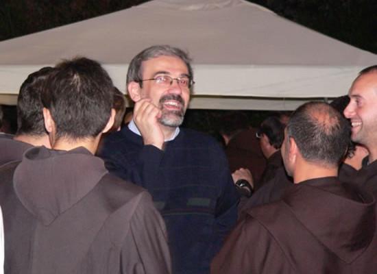 Il Custode di Terra Santa, Pierbattista Pizzaballa (al centro della foto), è tra i partecipanti al Capitolo generale straordinario dei Frati minori in corso ad Assisi (foto Ofm).