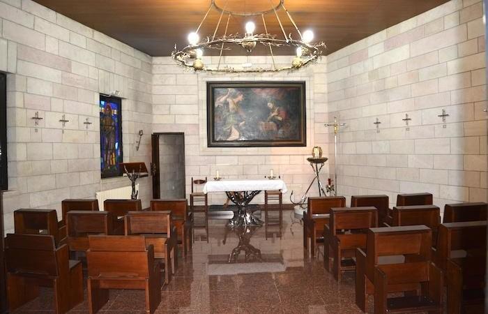La cappella principale della casa.