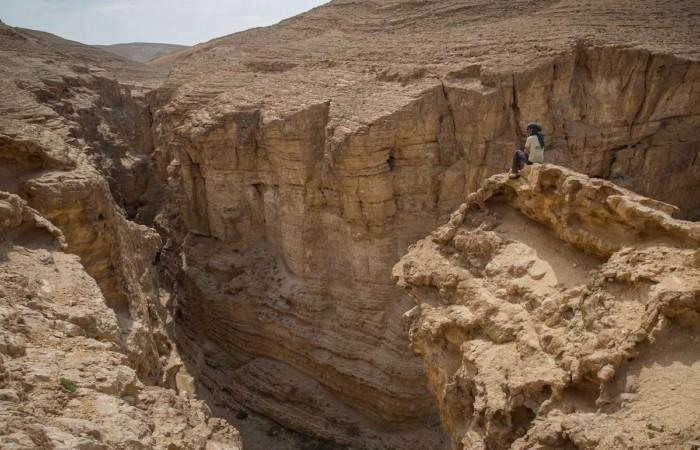 Il fascino del deserto. A piedi
