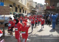 Di corsa nei campi profughi
