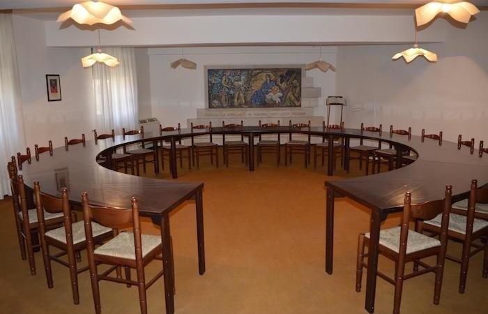 La sala riunioni.