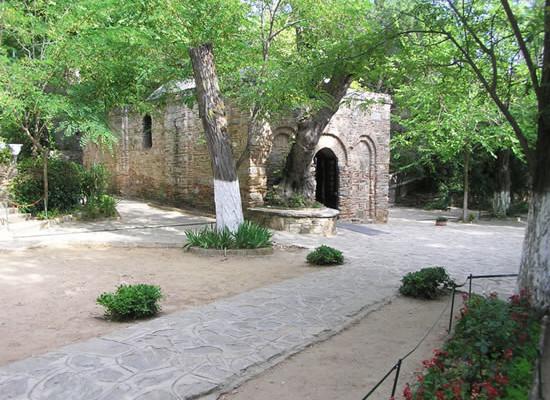 La casa di Maria ad Efeso (Turchia).