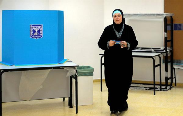 È tornata a crescere l'affluenza alle urne dei palestinesi israeliani