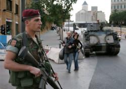 Caos libanese