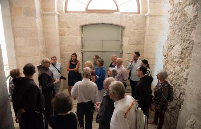 Ispezione ai locali destinati ad ospitare il Museo.