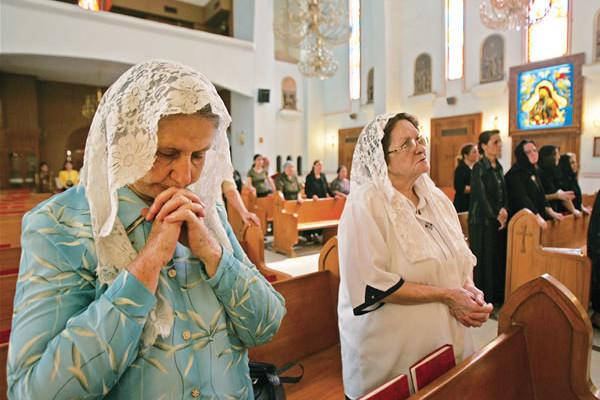 Il Natale blindato dei cristiani iracheni