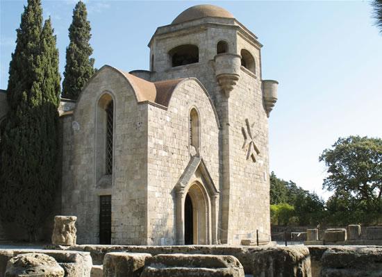Rodi. Una basilica per l'icona di san Luca