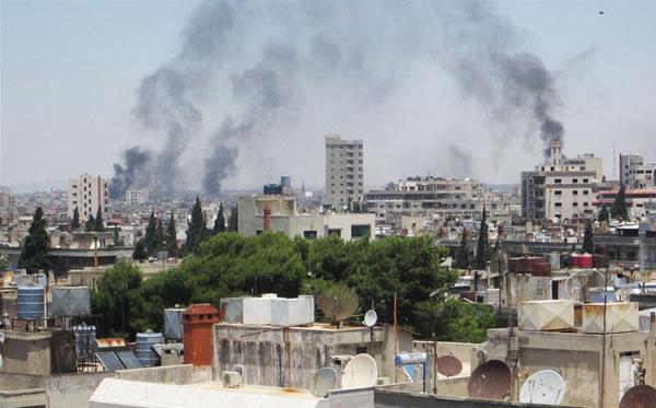 In Siria sfollano gli ultimi cristiani di Homs