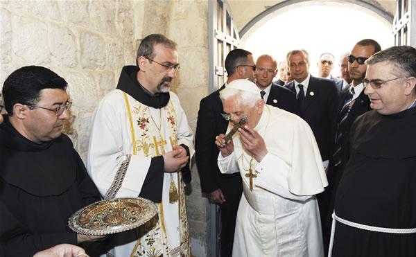 Il Papa che ha amato la Terra Santa