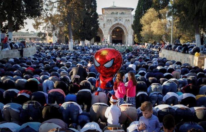 È di nuovo festa sulla Spianata delle Moschee