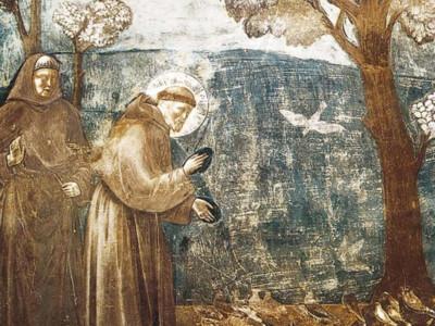 La festa di san Francesco d'Assisi nella terra di Gesù