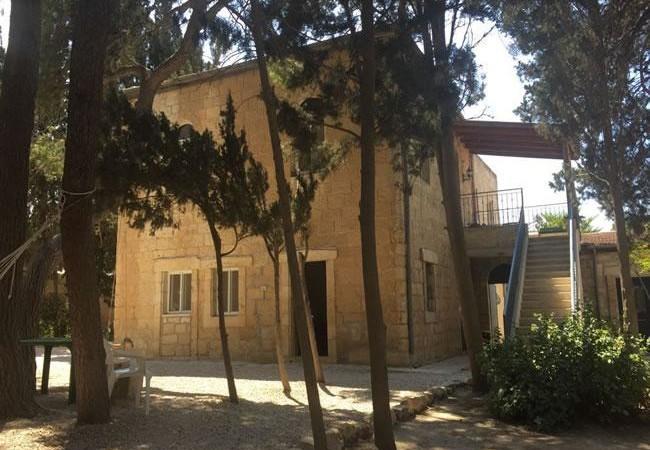 Scorcio della foresteria delle clarisse, a Gerusalemme.