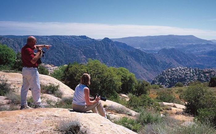 Un panorama giordano. C'è anche chi decide di solcarlo a piedi. (© foto JTB)