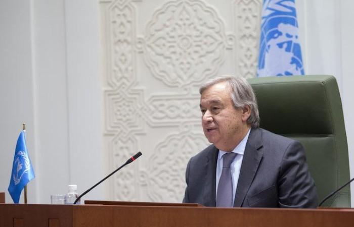 Guterres: «Cessi l'occupazione e nasca lo Stato di Palestina»