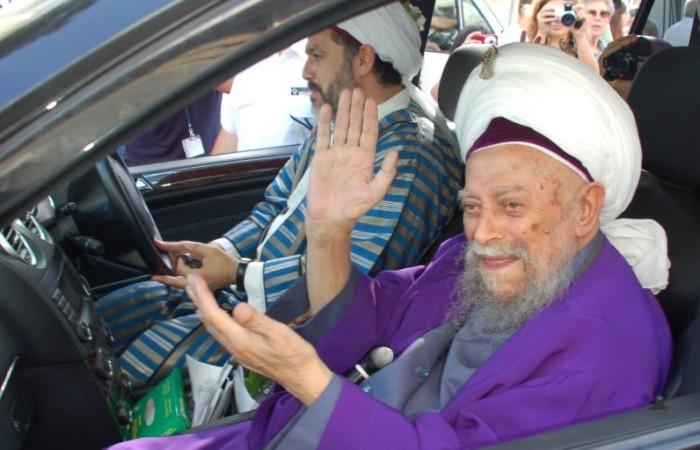 Il religioso musulmano che ha incontrato il Papa alla nunziatura.