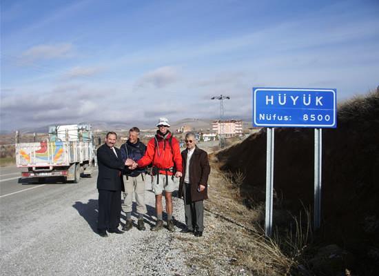 I nostri due pellegrini sono giunti in Turchia.