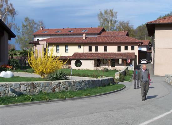 Magnano (Biella), scorcio del monastero di Bose.