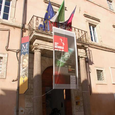 L'ingresso alla mostra assisana intitolata <i>Museo della memoria</i>. Diamo un rapido sguardo all'interno... (1/6)