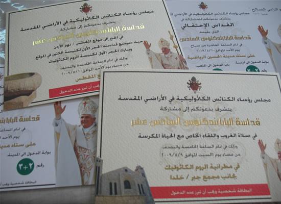 Il Papa in Giordania. Ultima messa a punto organizzativa