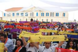 «Gesù, mia gioia». È il canto di 4 mila giovani a Beirut