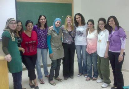 Studenti per i diritti umani all'Università di Betlemme