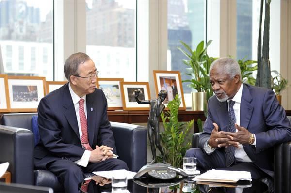 In Siria ultime speranze per il piano Annan