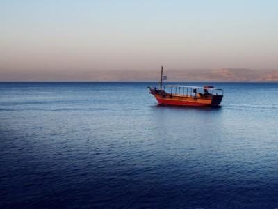 Il lago di Tiberiade si restringe