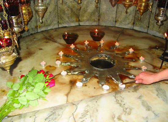 Le grotte di Betlemme