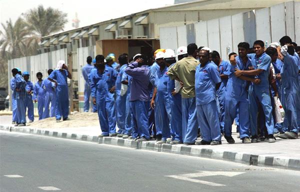Immigrati nel Golfo, diritti conculcati