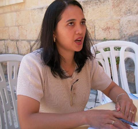 Lesandra Natalio, nella comunità di Gerusalemme ha trovato una nuova famiglia.