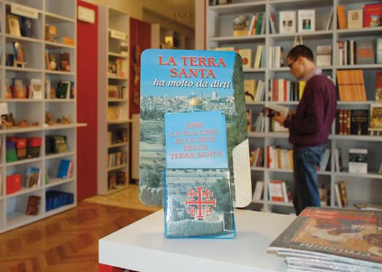 Nasce la Libreria Terra Santa