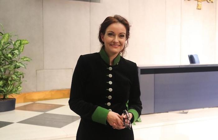 Maria Krethlow-Benziger, luogotenente dellOrdine del Santo Sepolcro in Svizzera.
