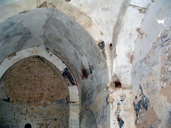 SS. Euphemianos in Lysi. Affreschi della cupola e dell'abside del XIII secolo staccati e rivenduti.