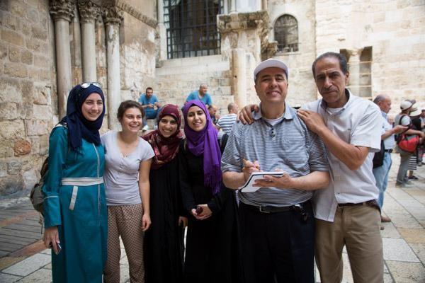 Un venerdì di Ramadan al Santo Sepolcro