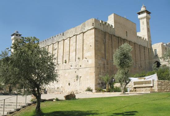 Hebron, alla tomba dei Patriarchi