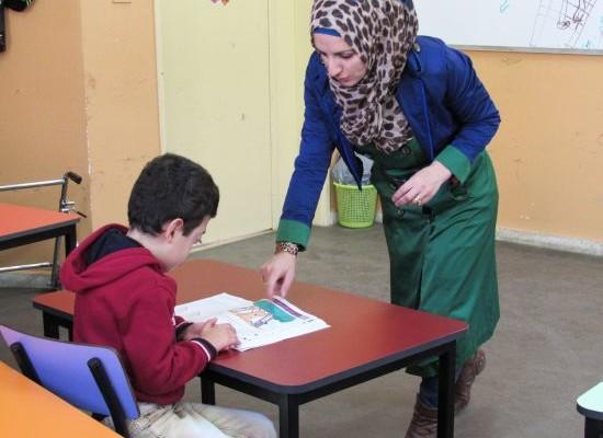 Una scuola per disabili nel cuore della Cisgiordania