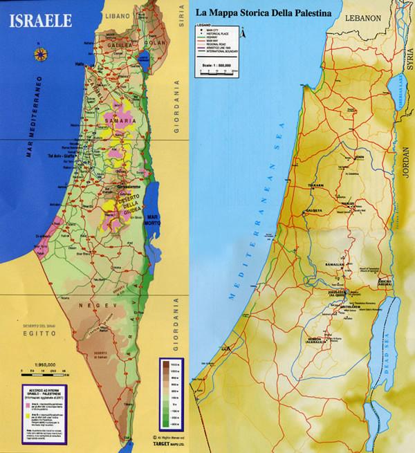 Israele Cartina Politica Oggi.Quando Il Turismo Non Conosce Confini Terrasanta Net