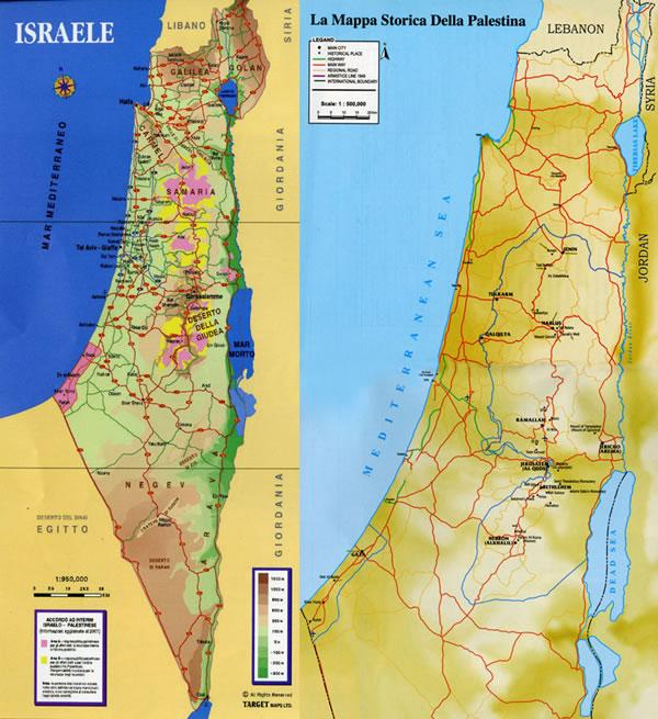 Cartina Israele E Palestina.Quando Il Turismo Non Conosce Confini Terrasanta Net