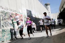 In tremila hanno corso alla terza edizione della maratona di Betlemme