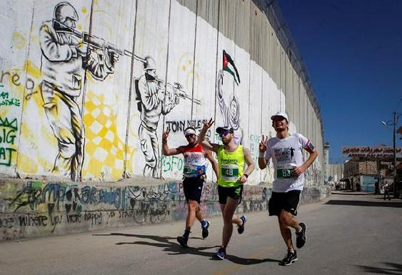 A Betlemme maratona senza Gaza