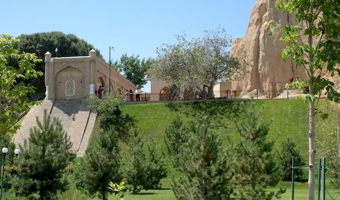 Il mausoleo del profeta Daniele a Samarcanda, in Uzbekistan. (foto F. Pistocchini)