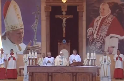 La messa del Papa ad Amman è quasi una festa della famiglia