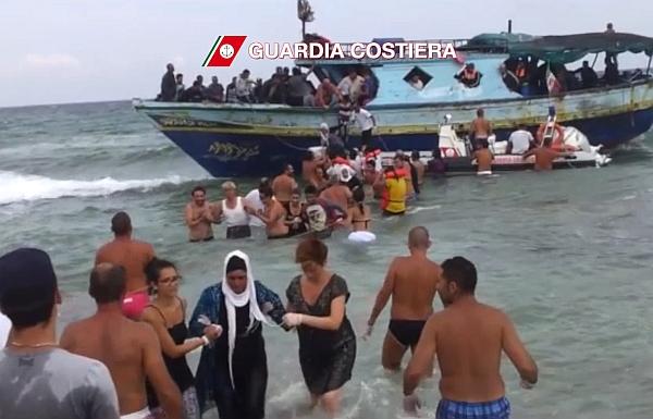La crisi in Siria ed Egitto sbarca sulle coste del sud Italia