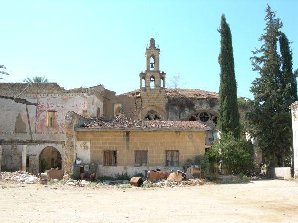 Monastero armeno a Nicosia, nella parte Nord di Cipro.