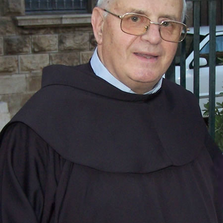 Monsignor Giuseppe Nazzaro, vicario apostolico di Aleppo fino all'aprile 2013.