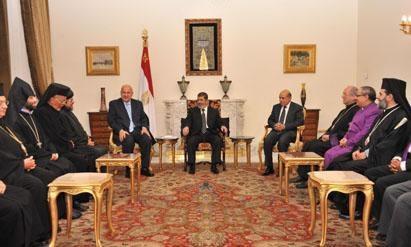 Al Cairo Morsi presta orecchio ai cristiani