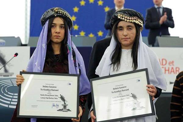Nadia e Lamiya: «Mai più genocidi»