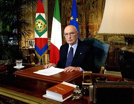 Napolitano: «L'Italia con la Chiesa per la pace in Terra Santa»